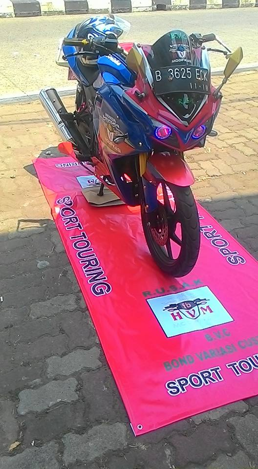 Modifikasi Honda Verza Full Fairing 2